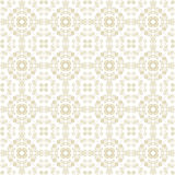Beige Colors Art Nouveau Style Plant Pattern design. Original Pa Royalty Free Stock Images