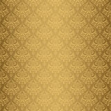 Beige Colors Damask Style Pattern design. Original Pattern and S Stock Images