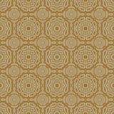 Beige Colors Flower Pattern Design. Korean traditional Pattern D Stock Photos