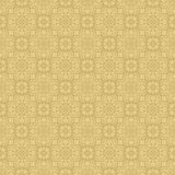 Beige Colors Flower and Plant Pattern Design. Korean traditional Royalty Free Stock Photography
