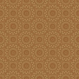 Beige Colors Round grid Pattern. Royalty Free Stock Images