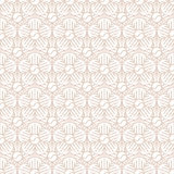 Beige Colors Round grid Pattern. Korean traditional Pattern Desi Royalty Free Stock Photo