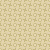 Beige Colors Square grid Pattern design. Korean traditional Patt Stock Image