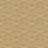 Beige colour old style seamless background Royalty Free Stock Photo