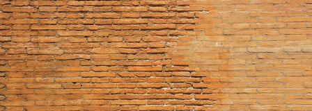 Beige concrete brick wall texture and background. Bricks wall background texture, Vintage wall, aged royalty free stock images
