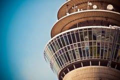Beige Concrete Tower Stock Image