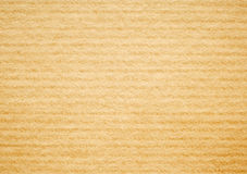 Beige corrugated cardboard texture background. Royalty Free Stock Photo