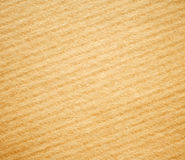 Beige corrugated cardboard texture background. Royalty Free Stock Images