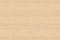 Beige cotton striped knitting fabric background. Seamless patter Royalty Free Stock Photography