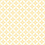 Beige & Cream Diamond Star Circle Pattern Royalty Free Stock Images