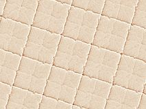 Beige cream modern abstract fractal art. Background illustration, square pattern with irregular ridges. Creative graphic template Royalty Free Stock Photography