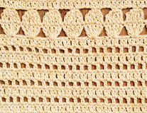 Crochet background Stock Photography