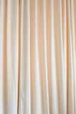 Beige curtain texture Royalty Free Stock Images