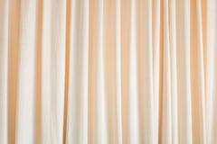 Beige curtain texture Stock Photo