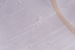 Beige curve on white dupion fabric. Close up of black dupion textile with white curves Stock Photography