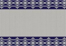 Beige de fond tricoté Photos libres de droits