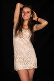 Beige dress Stock Image