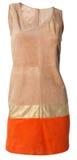 Beige dress Royalty Free Stock Photo