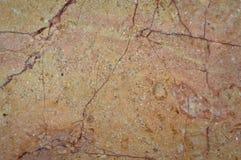 Beige en gouden marmeren textuur stock fotografie