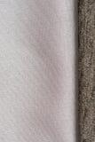 Beige fabric Stock Photography