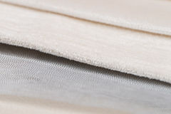 Beige fabric Stock Image