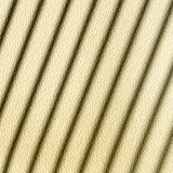 Beige fabric with diagonal shadows - background Stock Photography