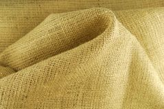 Beige fabric texture Royalty Free Stock Images
