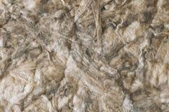 Beige Farbe des Hintergrundes der weichen und flaumigen Rohbaumwolle lizenzfreies stockfoto