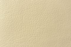 Beige Faux Leather Background Texture Stock Images