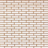 Beige fine brick wall texture background pattern, large detailed textured closeup Royalty Free Stock Photos