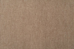 Beige flax cotton fabric texture. For background Royalty Free Stock Photo