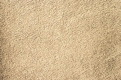 Beige fleece texture. For background usage stock image