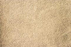 Beige fleece texture Stock Image
