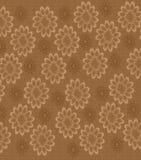 Beige Floral Background Stock Images