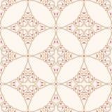 Beige floral pattern Stock Photos