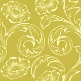 Beige flowers Royalty Free Stock Photography