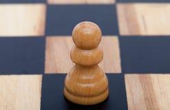 Beige gekleurd houten pand Royalty-vrije Stock Foto's