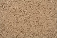 Beige gemalte strukturierte Wand Hintergrund, Beschaffenheit Stockbild
