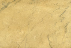 Beige genuine leather texture Royalty Free Stock Photos