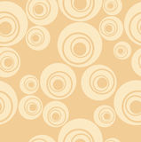Beige geometric. Geometric patterns on beige background Stock Images