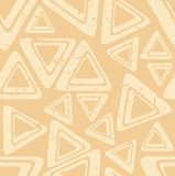 Beige geometric. Geometric patterns on beige background Royalty Free Stock Images