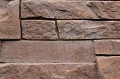 Beige geweven ruimte als achtergrond en exemplaar met baksteenstenen royalty-vrije stock afbeeldingen
