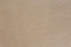 Beige Glossy Artificial Leather Background Texture Royalty Free Stock Photos