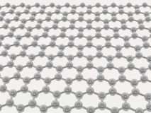 Beige graphene on white background Stock Photo