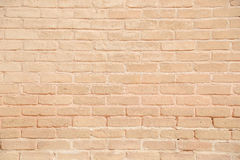 Beige grunge brick wall texture background Stock Images