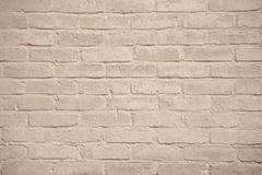Beige grunge brick wall texture background Royalty Free Stock Photo