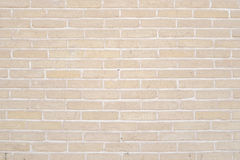 Beige grunge brick wall texture background Royalty Free Stock Image