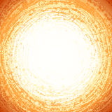 Beige grunge circle abstract vector background Royalty Free Stock Photos