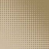 Beige halftone background. Royalty Free Stock Photos