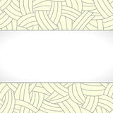 Beige hand-drawn lines background Stock Photography